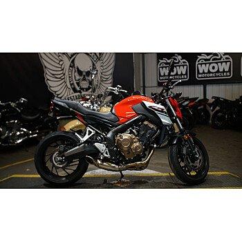 2018 Honda CB650F for sale 200912828