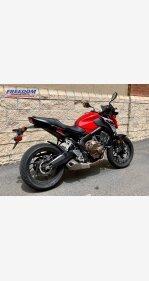 2018 Honda CB650F for sale 200915213