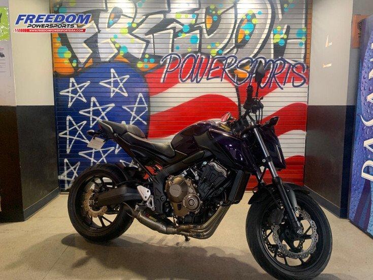 2018 Honda CB650F for sale 201020657