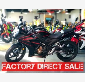 2018 Honda CBR300R for sale 200588802
