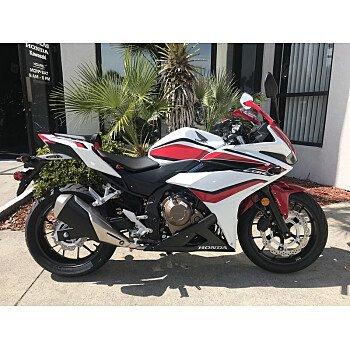 2018 Honda CBR500R for sale 200571285