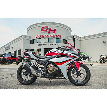 2018 Honda CBR500R for sale 200609577