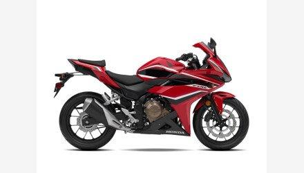 2018 Honda CBR500R ABS for sale 201025735