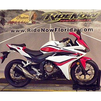 2018 Honda CBR500R for sale 201161764