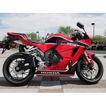 2018 Honda CBR600RR for sale 200701125