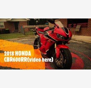 2018 Honda CBR600RR for sale 200980262