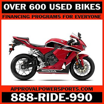 2018 Honda CBR600RR for sale 201050295