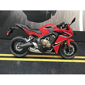 2018 Honda CBR650F for sale 200714695