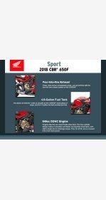 2018 Honda CBR650F for sale 200957228
