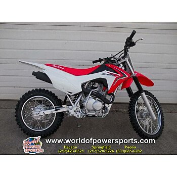 2018 Honda CRF125F for sale 200637056