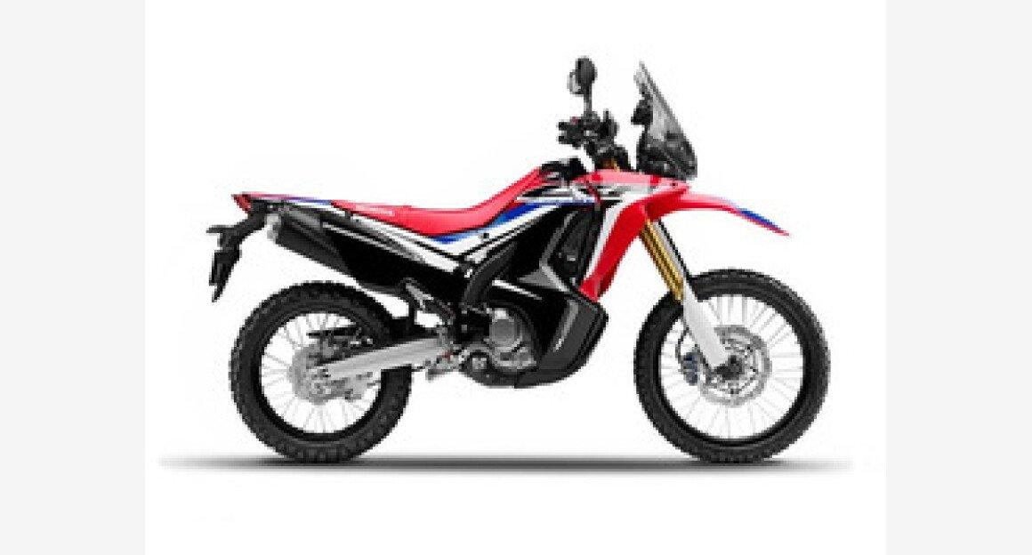 2018 Honda CRF250L for sale 200602495