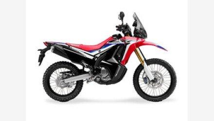 2018 Honda CRF250L for sale 200600776
