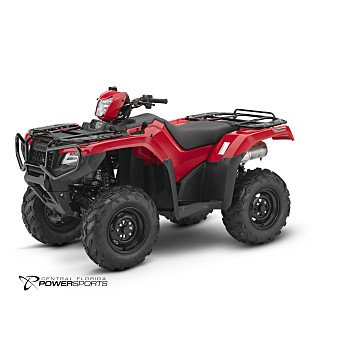2018 Honda FourTrax Foreman Rubicon for sale 200503032