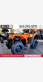 2018 Honda FourTrax Foreman Rubicon for sale 200588688
