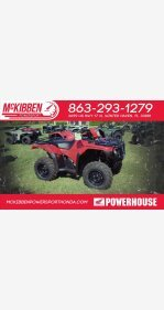 2018 Honda FourTrax Foreman Rubicon for sale 200588692