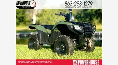 2018 Honda FourTrax Foreman Rubicon for sale 200642993