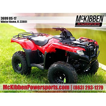 2018 Honda FourTrax Foreman Rubicon for sale 200796626