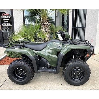 2018 Honda FourTrax Foreman for sale 200586166