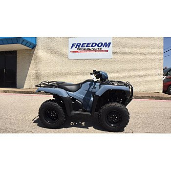 2018 Honda FourTrax Foreman for sale 200680929