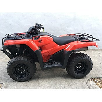 2018 Honda FourTrax Rancher for sale 200516309