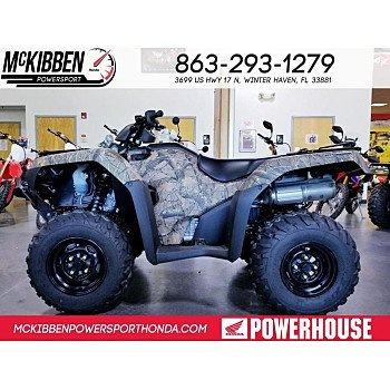 2018 Honda FourTrax Rancher for sale 200588721