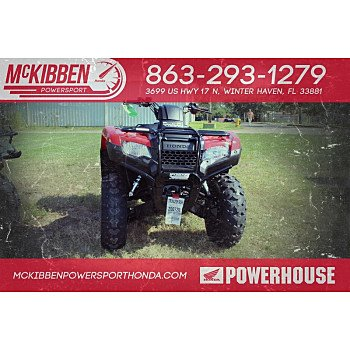 2018 Honda FourTrax Rancher for sale 200588735