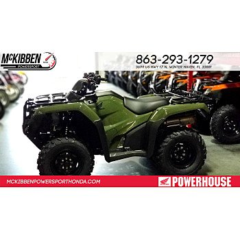 2018 Honda FourTrax Rancher for sale 200588859