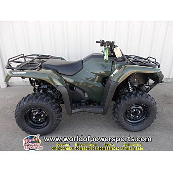 2018 Honda FourTrax Rancher for sale 200636838