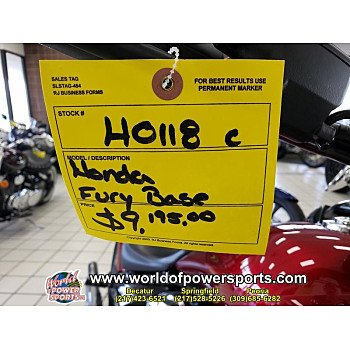 2018 Honda Fury for sale 200758196