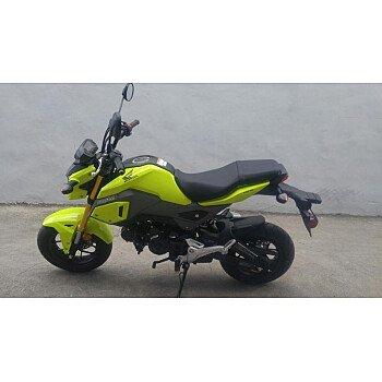 2018 Honda Grom for sale 200614300