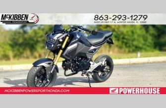 2018 Honda Grom for sale 200701655