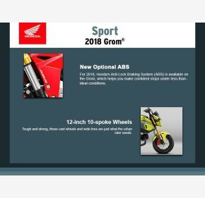 2018 Honda Grom ABS for sale 200857827