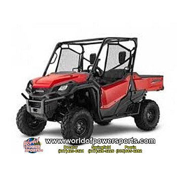 2018 Honda Pioneer 1000 for sale 200637285