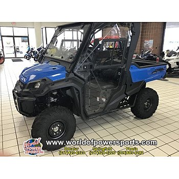 2018 Honda Pioneer 1000 for sale 200637332