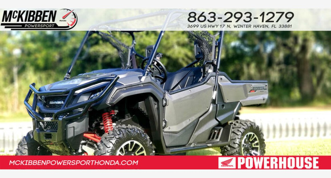 2018 Honda Pioneer 1000 for sale 200642099