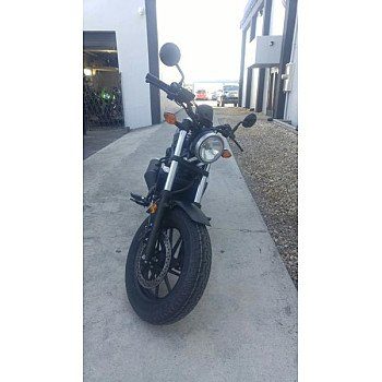 2018 Honda Rebel 500 for sale 200560777