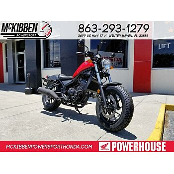 2018 Honda Rebel 500 for sale 200588825