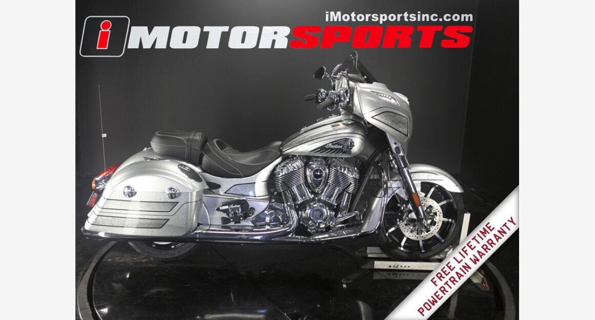 2018 Indian Chieftain Elite Limited Edition w/ ABS for sale 200609036