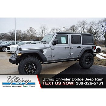 2018 Jeep Wrangler 4WD Unlimited Sport for sale 100972026