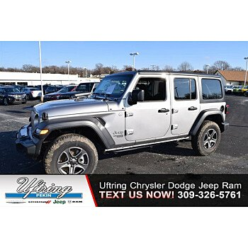 2018 Jeep Wrangler 4WD Unlimited Sport for sale 100982118