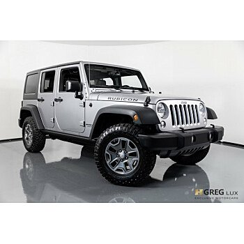 2018 Jeep Wrangler JK 4WD Unlimited Rubicon for sale 101079203