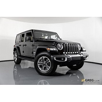 2018 Jeep Wrangler 4WD Unlimited Sahara for sale 101092749