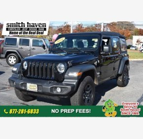 2018 Jeep Wrangler 4WD Unlimited Sport for sale 101045654