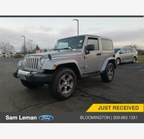2018 Jeep Wrangler JK 4WD Sahara for sale 101062616