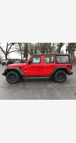2018 Jeep Wrangler 4WD Unlimited Sport for sale 101102861