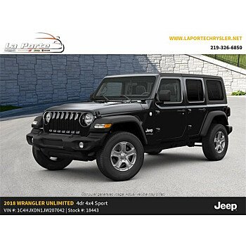 2018 Jeep Wrangler 4WD Unlimited Sport for sale 101102904