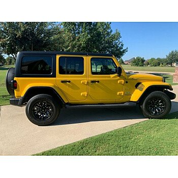 2018 Jeep Wrangler 4WD Unlimited Sahara for sale 101171056
