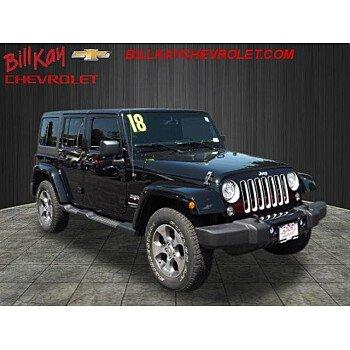 2018 Jeep Wrangler JK 4WD Unlimited Sahara for sale 101175088