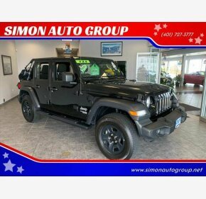 2018 Jeep Wrangler 4WD Unlimited Sport for sale 101184818