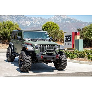 2018 Jeep Wrangler 4WD Unlimited Rubicon for sale 101199540